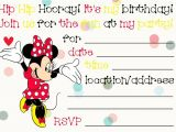 Free Printable Minnie Mouse First Birthday Invitations 32 Superb Minnie Mouse Birthday Invitations Kitty Baby Love