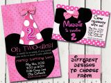 Free Printable Minnie Mouse First Birthday Invitations Chalkboard Birthday Invitation Custom by Tamiraycardsandprint