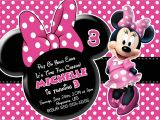 Free Printable Minnie Mouse First Birthday Invitations Free Minnie Mouse Printable Birthday Invitations Free