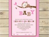 Free Printable Monkey Girl Baby Shower Invitations Free Printable Its A Girl Baby Shower Invitation