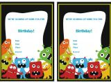 Free Printable Monster Birthday Invitations Monsters University Birthday Invitations – Birthday Printable