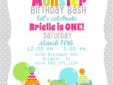 Free Printable Monster Birthday Invitations Printable Party Invitation Little Monster Birthday or Baby