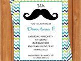 Free Printable Mustache Birthday Invitations Mustache Invitation Kids Birthday Printable Editable