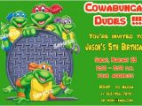 Free Printable Ninja Turtle Party Invitations Free Printable Teenage Mutant Ninja Turtles Birthday