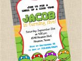 Free Printable Ninja Turtle Party Invitations Printable Diy Ninja Turtles Inspired Invitations Party