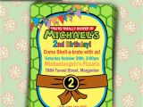 Free Printable Ninja Turtle Party Invitations Printable Teenage Mutant Ninja Turtles Birthday