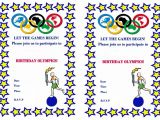 Free Printable Olympic Birthday Party Invitations Sports Invitations – Birthday Printable