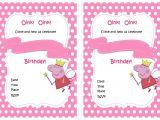 Free Printable Peppa Pig Birthday Invitations Peppa Pig Birthday Invitations – Birthday Printable