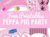 Free Printable Peppa Pig Birthday Invitations Peppa Pig Party Printables Fun Party Ideas