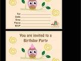 Free Printable Personalized Birthday Invitation Cards Free Printable Personalized Birthday Invitation Cards