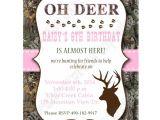 Free Printable Pink Camo Birthday Invitations Camo Girl Lt Pink Printable Invitation Hunting Realtree Diy