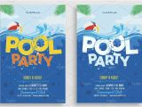 Free Printable Pool Party Birthday Invitations 28 Pool Party Invitations Free Psd Vector Ai Eps