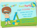 Free Printable Pool Party Invitation Cards Free Printable Birthday Invitations for Boys Free