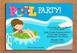 Free Printable Pool Party Invitation Cards Free Printable Birthday Pool Party Invitations Drevio
