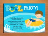 Free Printable Pool Party Invitation Cards Free Printable Birthday Pool Party Invitations