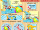 Free Printable Pool Party Invites Printable Pool Party Invitations Template Best Template