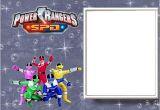 Free Printable Power Ranger Birthday Invitations Power Rangers Free Printable Invitations Oh My Fiesta