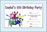 Free Printable Power Ranger Birthday Invitations Power Rangers Party Invitations Cimvitation