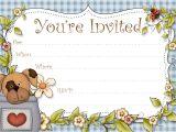 Free Printable Puppy Birthday Invitations Free Printable Boys Birthday Party Invitations Hubpages