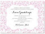 Free Printable Quinceanera Invitation Templates Download and Print Invitation Template for Quinceanera