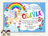 Free Printable Rainbow Unicorn Birthday Invitations 9 Best Of Free Printable Unicorn Invitations