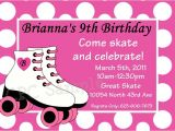 Free Printable Roller Skating Party Invitations 9 Best Images Of Roller Skating Birthday Invitations