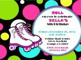 Free Printable Roller Skating Party Invitations Skating Party Invitations Party Invitations Templates