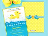 Free Printable Rubber Ducky Baby Shower Invitations Rubber Ducky Baby Shower Invitations