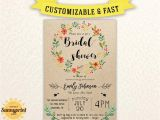 Free Printable Rustic Bridal Shower Invitation Templates Bridal Shower Invites Bridal Shower Vintage Bridal
