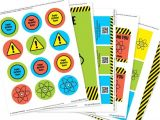 Free Printable Science Birthday Party Invitations Science Party Invitation Decorations Kit Printable Mad