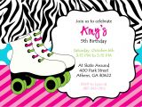 Free Printable Skateboard Birthday Party Invitations Party Invitations Best Skating Party Invitations Cards