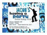 Free Printable Skateboard Birthday Party Invitations Skateboard Party Invitation 5 Quot X 7 Quot Invitation Card Zazzle