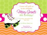 Free Printable Skateboard Birthday Party Invitations Skating Party Invitations Party Invitations Templates