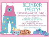 Free Printable Sleepover Birthday Party Invitations Free Printable Slumber Party Birthday Invitations Drevio