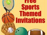 Free Printable softball Birthday Invitations Free Printable Sports Birthday Party Invitations Templates