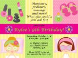 Free Printable Spa Birthday Invitations Printable Spa Party Invitations Spa at Home Pinterest