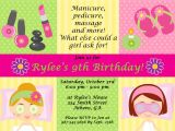 Free Printable Spa Party Invitations Spa Party Invitations are Easy to Make You Can Start
