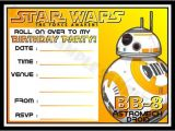 Free Printable Star Wars Birthday Invitation Templates 21 Star Wars Birthday Invitation Template – Free Sample