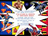 Free Printable Superhero Birthday Invitation Templates Superhero Birthday Party Invitations Template Best