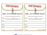Free Printable Surprise Birthday Party Invitations Templates Free Printable Surprise Birthday Party Invitations