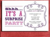 Free Printable Surprise Birthday Party Invitations Templates Vintage Style Surprise Birthday Invitation 4×6 Invitation