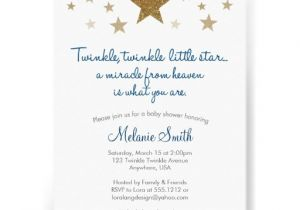 "Free Printable Twinkle Twinkle Little Star Baby Shower Invitations Twinkle Twinkle Little Star Baby Shower Invitation 5"" X 7"
