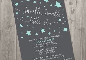 Free Printable Twinkle Twinkle Little Star Baby Shower Invitations Twinkle Twinkle Little Star Baby Shower Invitation Diy
