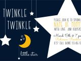 Free Printable Twinkle Twinkle Little Star Baby Shower Invitations Twinkle Twinkle Little Star Baby Shower the Diy Lighthouse