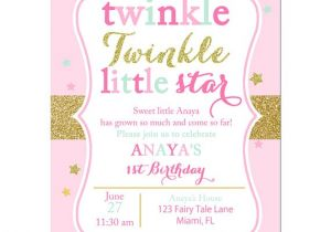 Free Printable Twinkle Twinkle Little Star Baby Shower Invitations Twinkle Twinkle Little Star Invitation Printable or