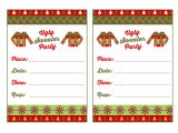 Free Printable Ugly Christmas Sweater Party Invitations Free Ugly Sweater Party Printables From Printabelle