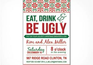Free Printable Ugly Sweater Party Invitations Free Printable Ugly Christmas Sweater Party Invitations