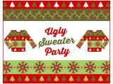 Free Printable Ugly Sweater Party Invitations Free Ugly Sweater Party Printables Catch My Party