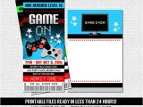 Free Printable Video Game Party Invitations 35 Best Images About Cams Bday Ideas On Pinterest Safety