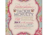 Free Printable Vintage Bridal Shower Invitations Bridal Shower Invitation Vintage Rustic Bridal Wedding